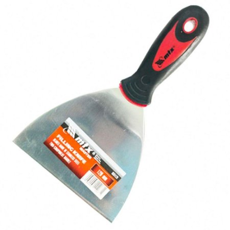 Espátula de Aço Inoxidável Lisa de 120mm-MTX-855129