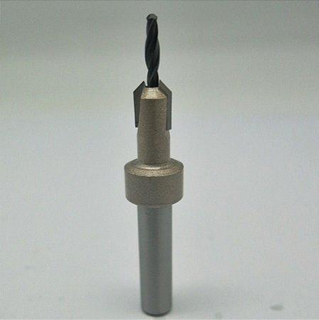 Escareador Cônico Ct171601030 10 X 03mm P/ Madeira - Ctpohr