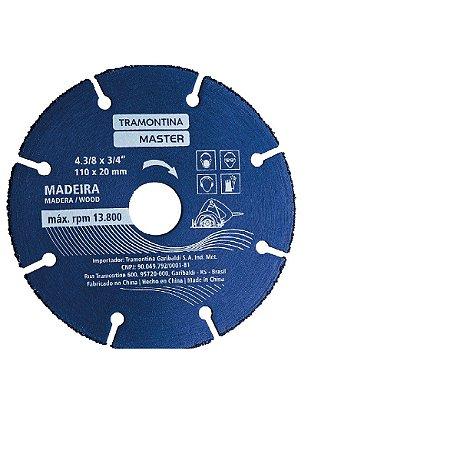 Disco de Corte para Madeira 110mmX20mm 42581/104 Tramontina