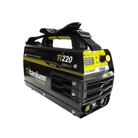 Máquina de Solda Inversora 200A Bivolt Ti220 Titanium
