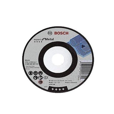 Disco De Desbaste Para Ferro 2608600501 BOSCH