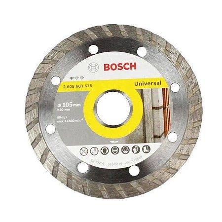 Disco Diamantado Turbo Universal Seco Úmido 105x20 Bosch