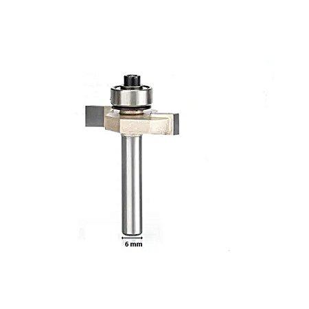 Fresa T Canal Com Rolamento Debrum 3/8 Haste 6mm Ctpohr