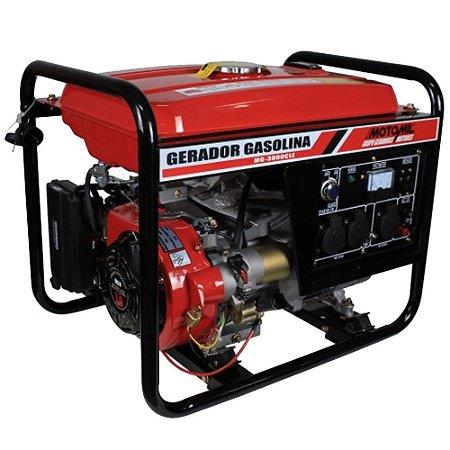 Gerador de Energia a Gasolina 3 KVA Bivolt MG3000CL Motomil