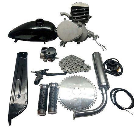 Motor para Bicicleta a Gasolina Bike Motorizada Kit Completo