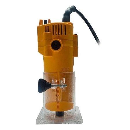 Tupia Laminadora Profissional 350 watts Pinça 6mm SH SH0752