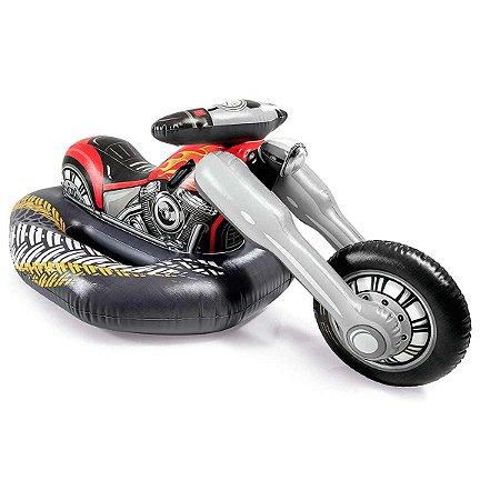 Boia Bote Infantil Inflável Gigante Motor bike 57534 Intex