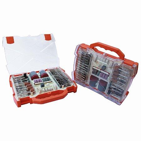 Kit De Acessórios Micro Retífica 99 Peças BFH2328 Bestfer