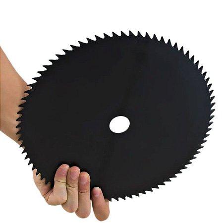 Disco Lâmina de Corte para Roçadeira 80 Dentes 250x25,4mm SA