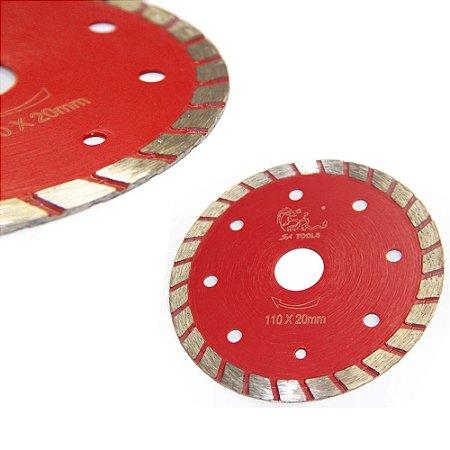 Disco Corte Diamantado Turbo 110mm Profissional Sa Tools
