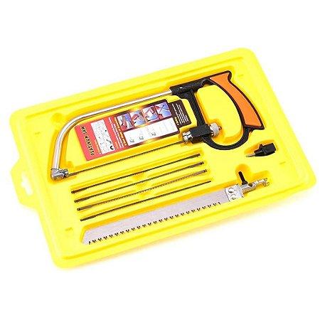 Arco De Serra Mini Serrote Ajustável Multifuncional Sa Tools