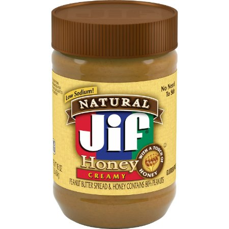 Jif Peanut Butter Honey Cream natural 454g