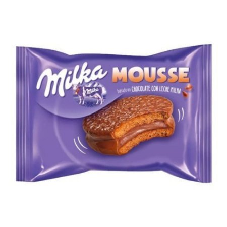 Alfajor Milka Mousse chocolate com leite 42g