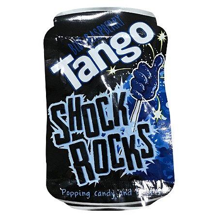 Shock Rocks pirulito de Blue Raspberry que explode 13g