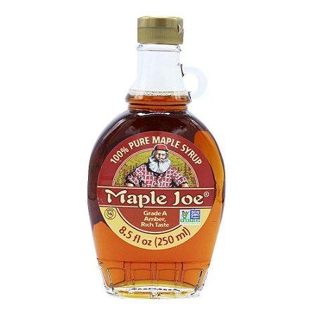 Xarope Canadense de Maple 100% puro 250ml Maple Joe