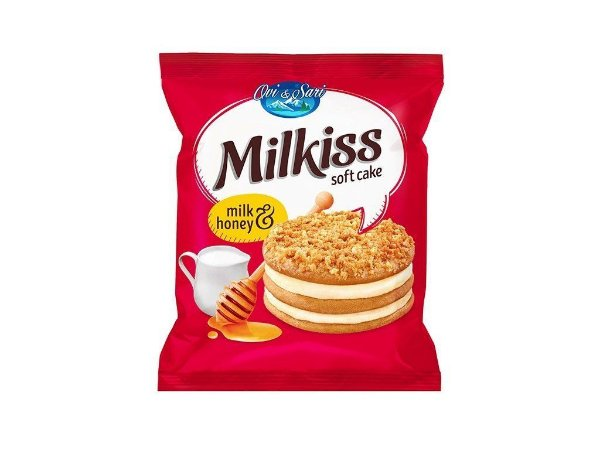 Milkiss Soft Cake Milk honey 50g