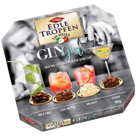 Bombons Edle Tropfen Gin Editions 100g