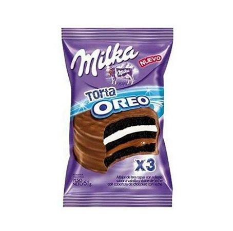 Alfajor Milka Oreo com cobertura de Chocolate 61g