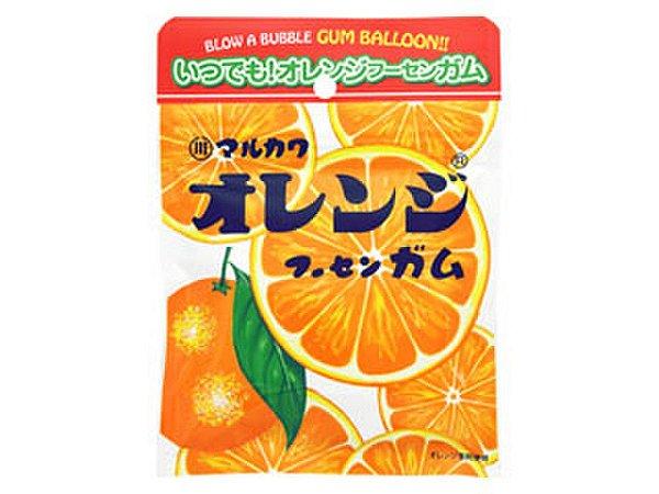 Bubble Gum chiclete sabor laranja 47g
