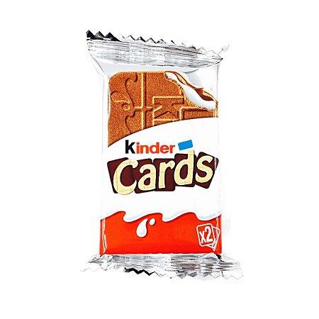 Wafer Quadrado Kinder Cards 25,6g