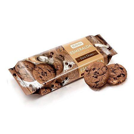 Esmeralda Biscuits Dark Choco Roshen 150g