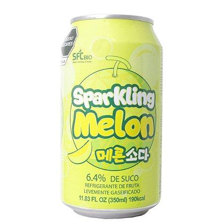 Refrigerante Coreano levemente gaseificado de melão 350ml