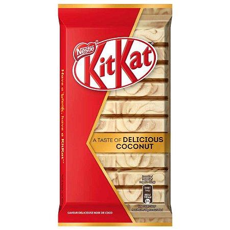 Kit kat importado com chocolate branco e coco 112g