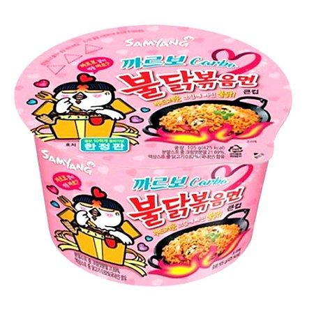 Lamen picante Coreano sabor frango cremoso 105g Samyang