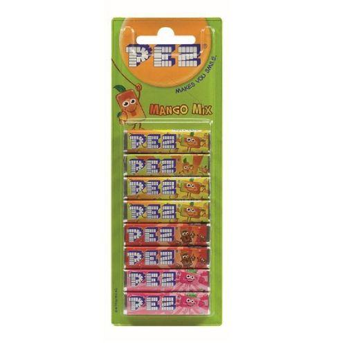 PEZ Refil Mango Mix 8 unidades 68g