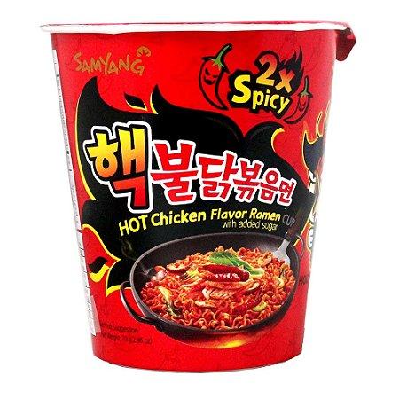 Samyang  Hot Chicken 2x Picante (Sabor Frango) 70g