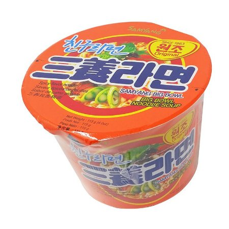 Samyang  Big Bowl Carne e Vegetais 115g