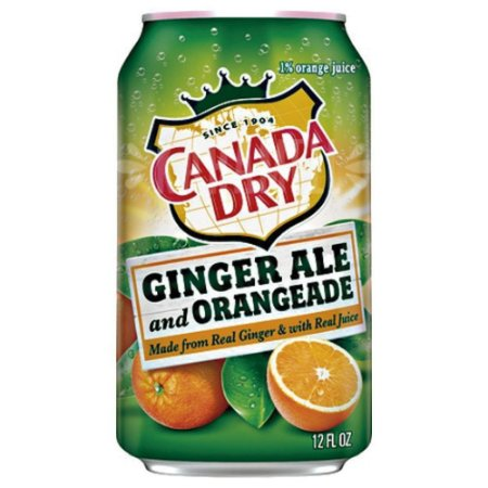 Canada Dry Ginger Ale Orangeade 355ml