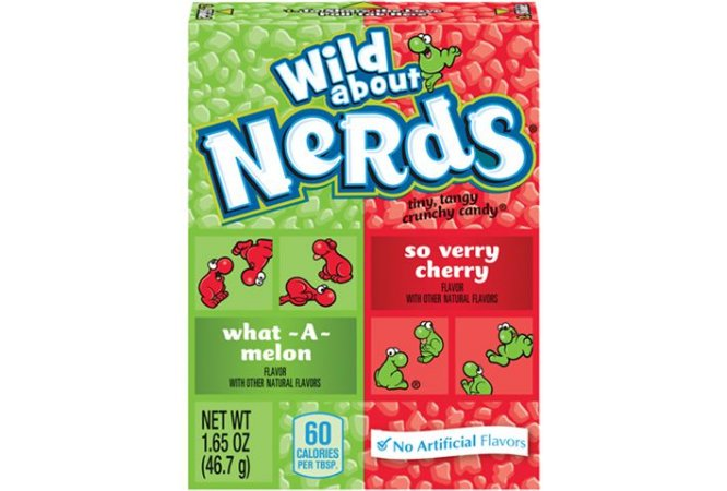 Nerds Wild About What-a-melon so very cherry 46.7g
