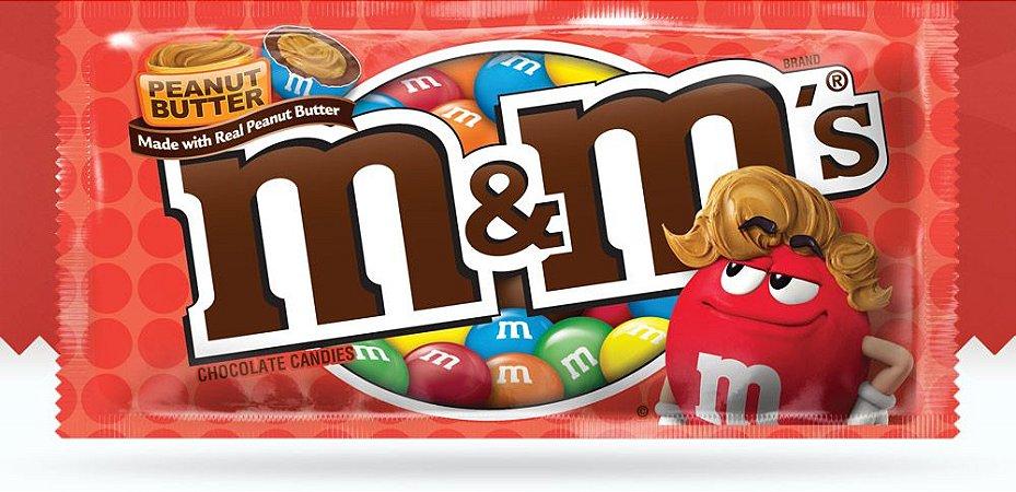 M&M'S Peanut Butter Chocolate Manteiga de amendoim 46,2g