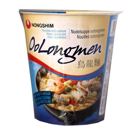 Nongshim OoLongmen Frutos Do Mar Noodle Em Copo 75g