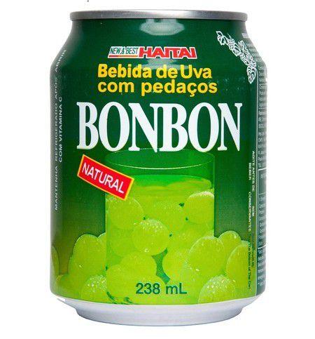 Haitai Suco De Uva Com Pedaços De Fruta Bonbon 235ml