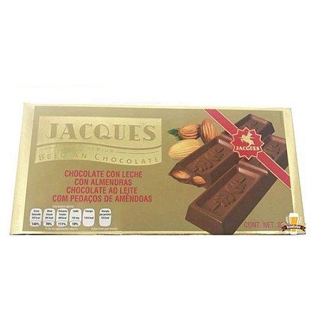 Jacques Chocolate Belgian - Ao Leite Com Amêndoas