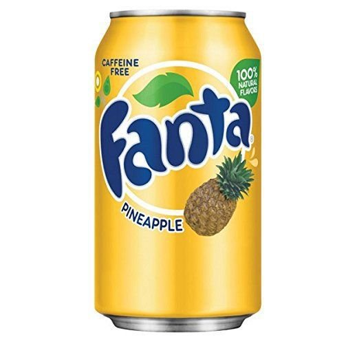 Fanta Pineapple Abacaxi 355ml