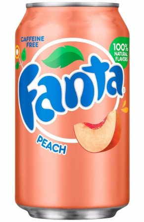 Fanta Peach Pêssego 355ml