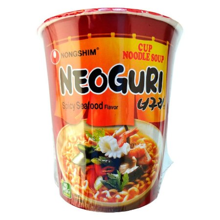 Nongshim NEOGURI Spicy Seafood Noodle 62g