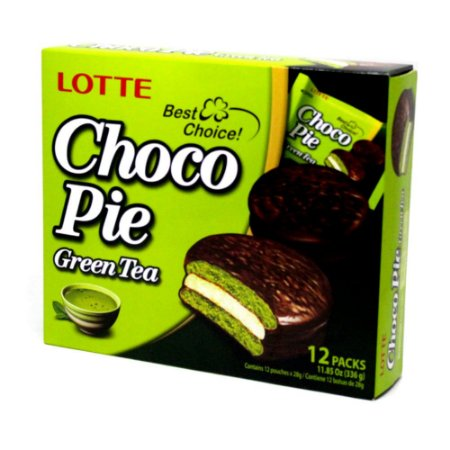Orion Chocopie Alfajor Chá Verde 12 un 336g