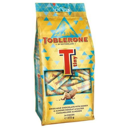 Toblerone Tiny Crunchy Almonds 34 pieces 272g