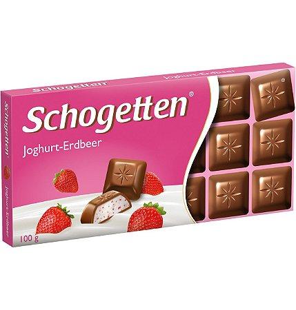 Schogetten Yoghurt Strawberry (Iogurte de Morango) 100g