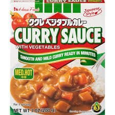 House Foods Curry Sauce Med Hot 200g