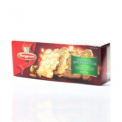 Biscoito Spekulatius com Especiarias e Amêndoas 300g