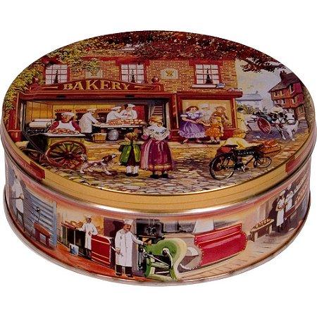 Biscoito Baker Shop em Lata Decorada 400g