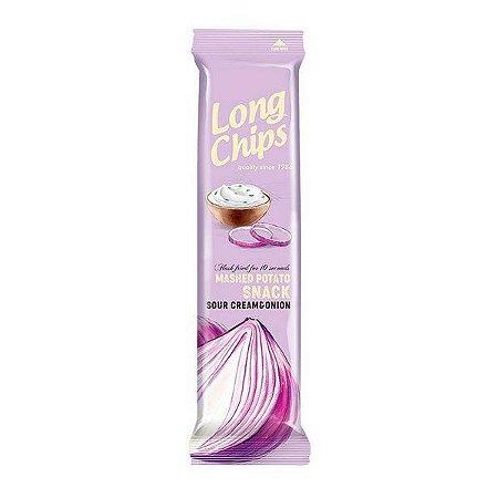Batata Long Chips Creme Azedo e Cebola 75g