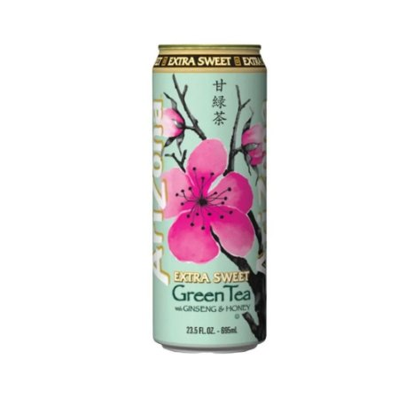 Arizona Extra Sweet Green Tea With Ginseng & Honey 680ml