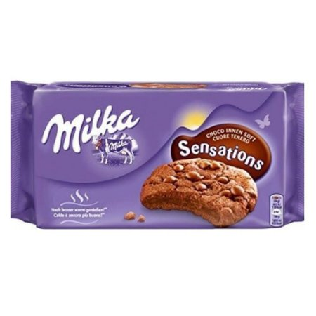 Milka Sensations Cookies Chocolate 156g