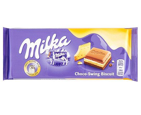 Milkinis Cream & Biscuit 100g